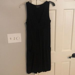Max and Cleo Black Dress with Pockets